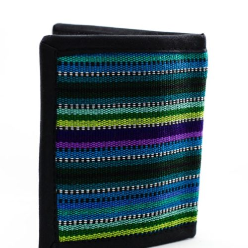 Ikat Double Fold Wallet