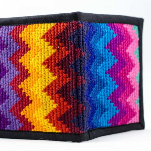 Crochet Double Fold Wallet