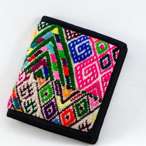 Double Fold Assorted Huipil Wallet