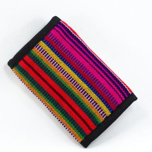 Three Fold Ikat Wallet