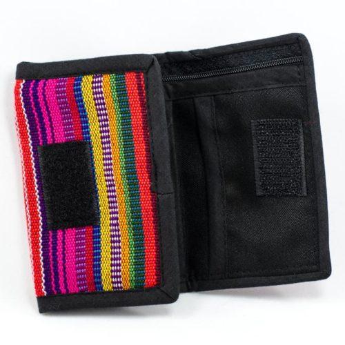 Three Fold Ikat Wallet