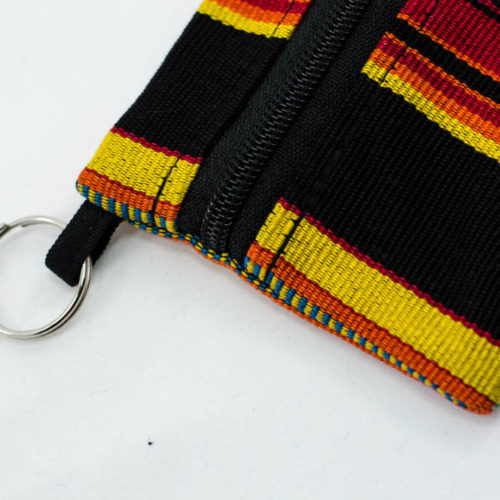 Square Ikat Key Chain