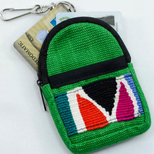 Loom Belt Backpack Key Chain