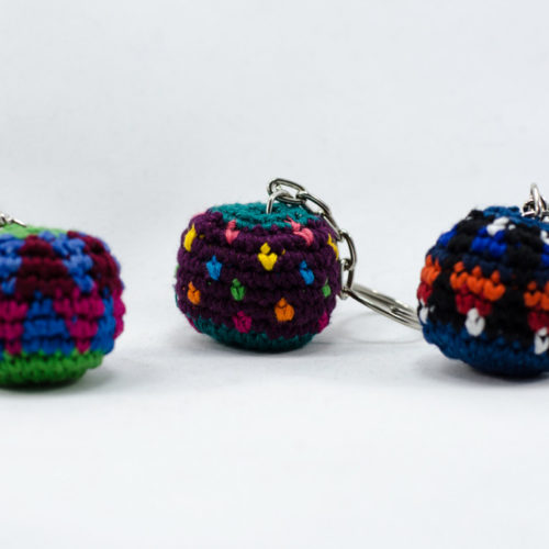 Doz. Mini Hacky Sack Key Chains