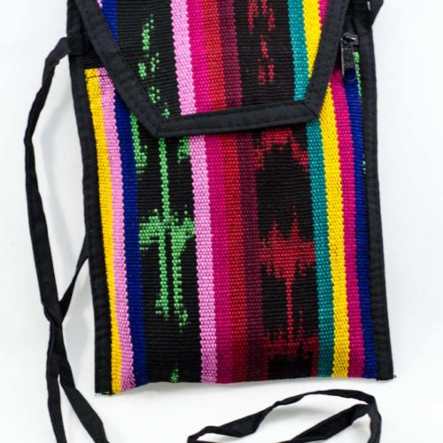 Ikat Organizer Pouch with Strap