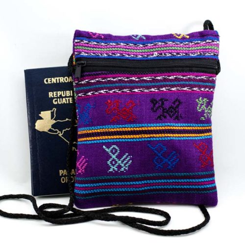 Comalapa Organizer Pouch with Strap