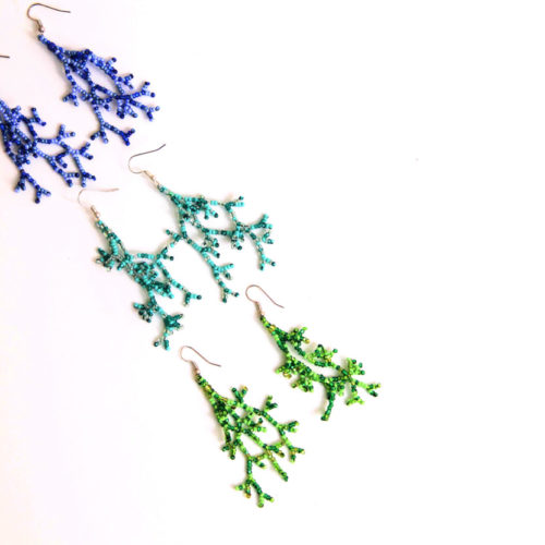 Pair of Root Earring