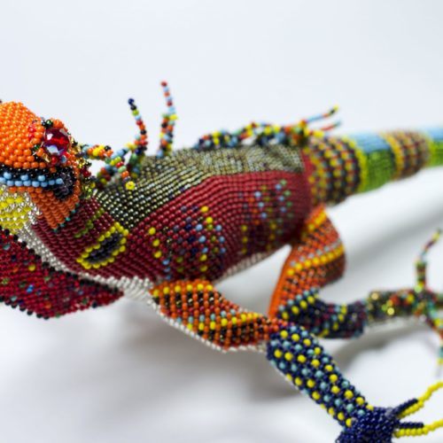 "Iguana Decoration ""L"""