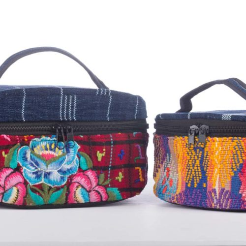 "Huipil Travel Cosmetic Bag ""S"""