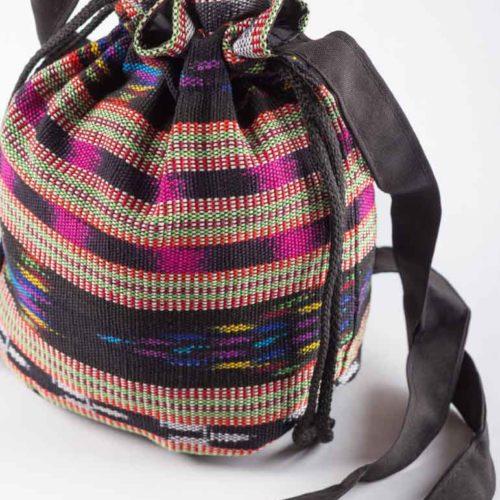 """Drawstring Crossbody Bucket Bag """"M"""""""