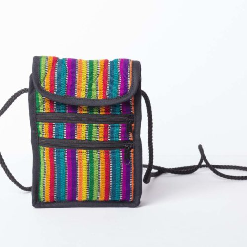 "Ikat Crossbody Camera Bag ""S"""