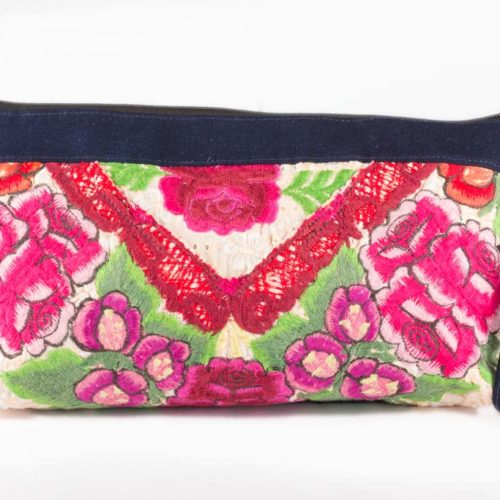 Canoe Hand Purse with Wristlet