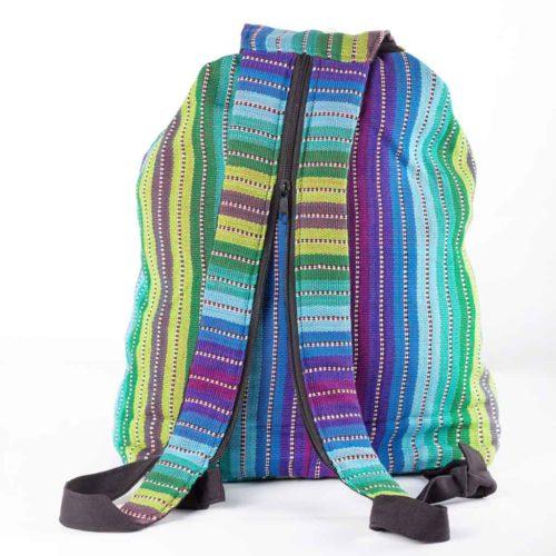 Convertible Ikat Backpack
