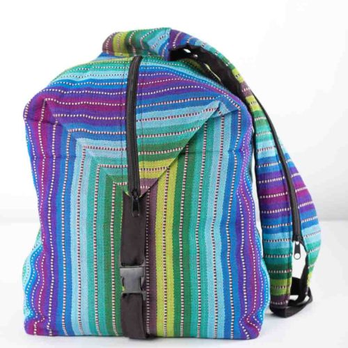 Convertible Ikat Backpack