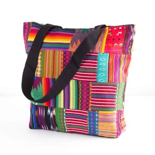 Mix Patchwork Tote Bag