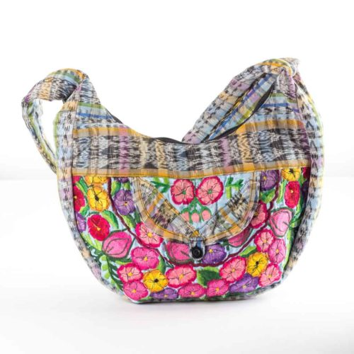 Luna Floral Design Shoulder Bag