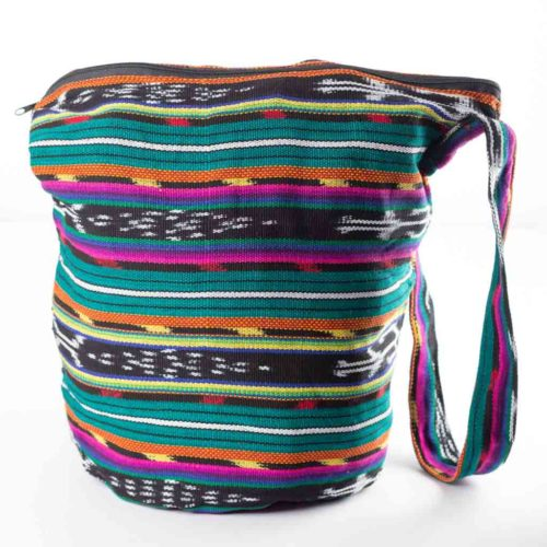 Ikat Bucket Bag