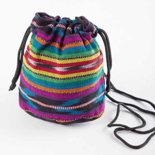 "Drawstring Crossbody Bucket Bag ""S"""