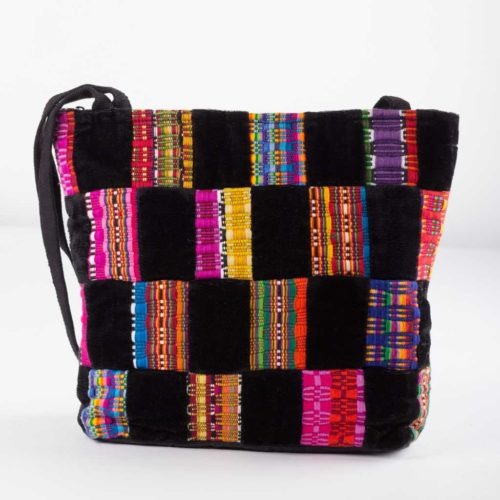 Panal patchwork shoulder Bag