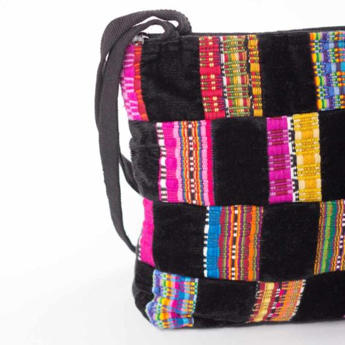 Panal patchwork shoulder Bag