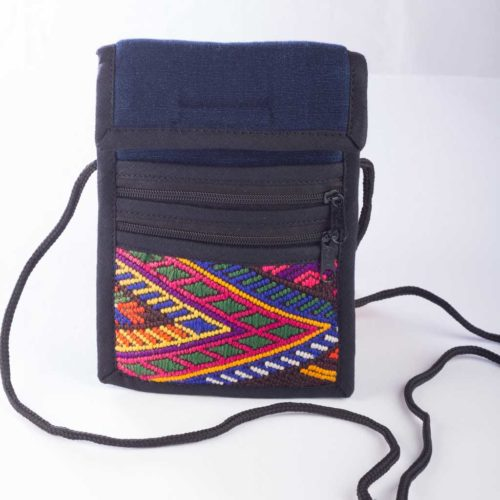 "Huipil Camera Crossbody Bag ""S"""