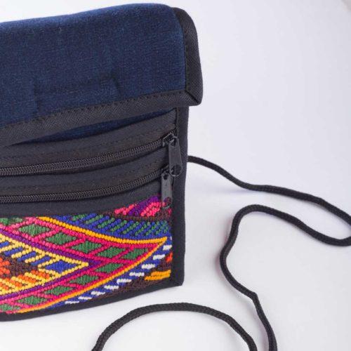 "Huipil Camera Crossbody Bag ""S"""