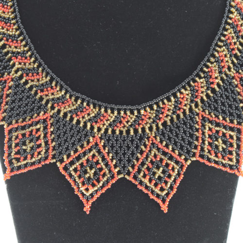 Pharaoh Beaded Necklace