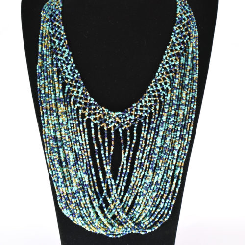 Crisscross Threads Necklace