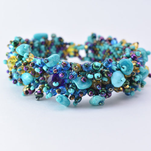 Caterpillar Beaded Bracelet