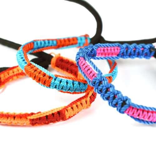 Doz. of Neon assorted bracelets