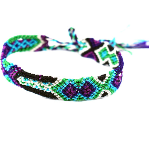 "Pack of Neon Friendship Bracelets ""S"" (60 pieces)"