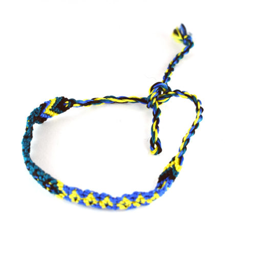 "Pack of Silky Style Friendship Bracelets ""S"" (120 pieces)"