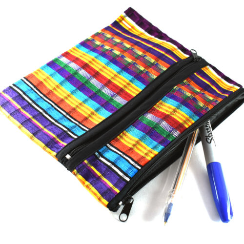 Chal 3 zip Square Pouch