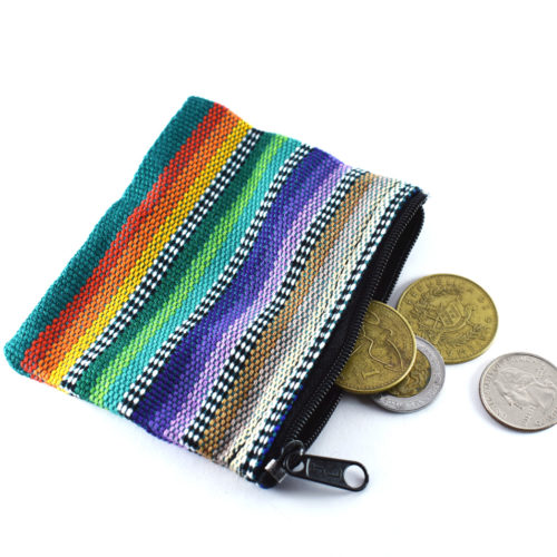 "Doz. of Ikat Coin Purse ""S"""