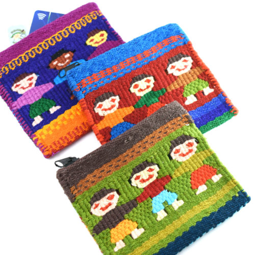 Three Friends Coin Purse