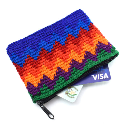Rectangular Crochet Coin Purse