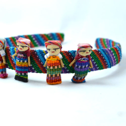 Doz. of Hairband with Large Worry Dolls