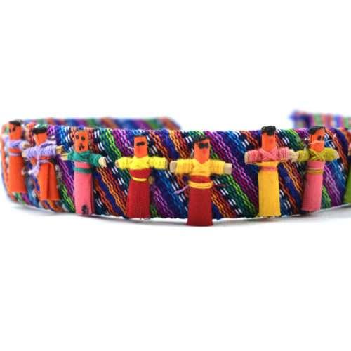 Doz. of Hairband with Mini Worry Dolls