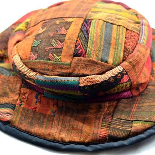 Dip Dye Patchwork Sombrero