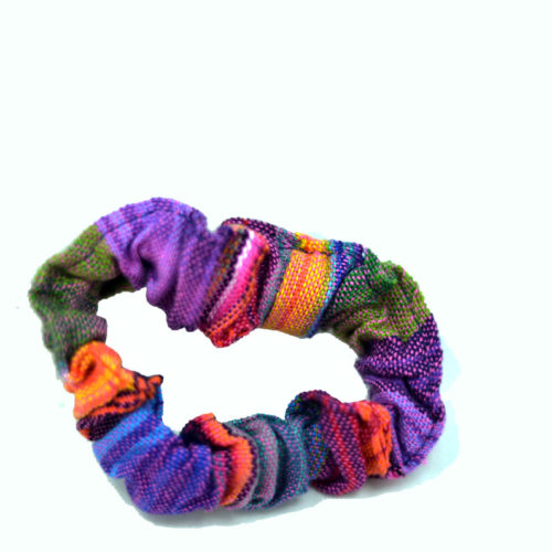 Doz. Ikat Hair Scrunchies