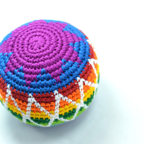 Crochet Hacky Sack XL