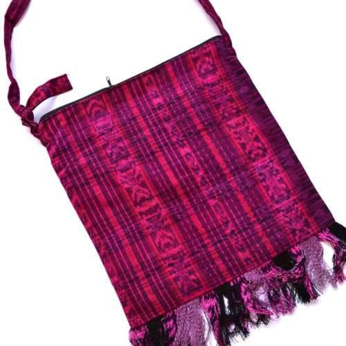 "Dip Dye Fringe Crossbody Bag ""L"""