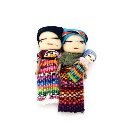 Doz. Happy Family Worry Dolls