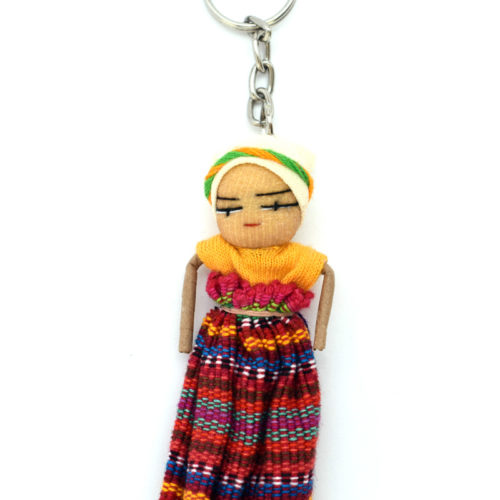 Doz. Dancing Doll Key Rings