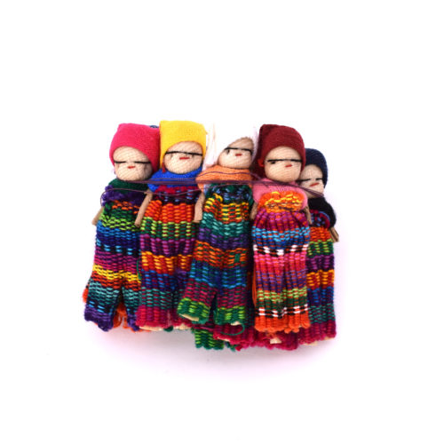 Gross of 2 Inch Men Worry Dolls