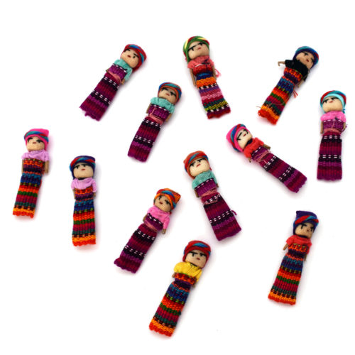 Gross of 2 Inch Worry Dolls