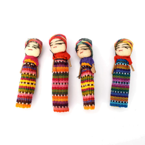 Gross of 3 Inch Worry Dolls