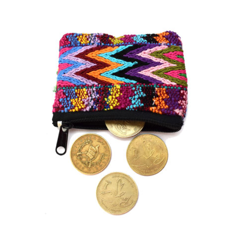 Assorted Double Side Huipil Mini Pouch