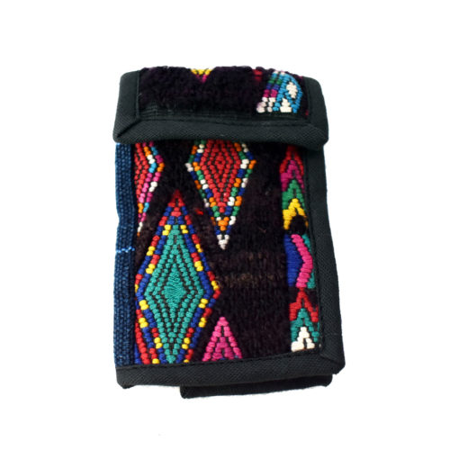Huipil Crossbody Mini Wallet