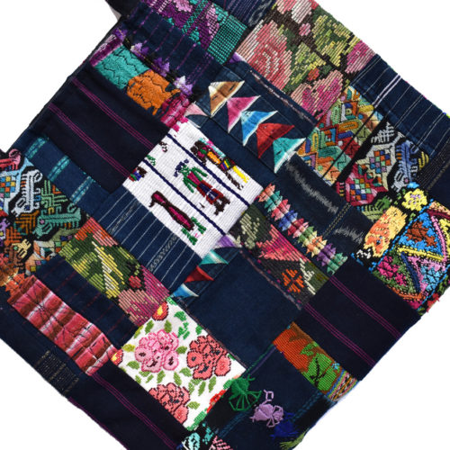 Huipil Patchwork Tote Bag